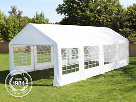Perfect 03x08 Garden Marquee for Event & Party 08x03 Gazebo Tent - Unused - Special Price
