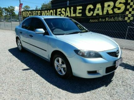 2008 Mazda 3 BK10F2 Neo Blue 4 Speed Sports Automatic Sedan Kippa-ring Redcliffe Area Preview