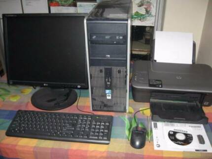 COMPLETE, FAST, HP COMPAQ PC SYSTEM $190 Wembley Cambridge Area Preview