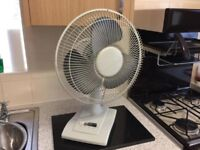 Medium Tabletop Fan Very Powerful Lovely Condition Only £18