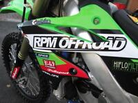 KAWASAKI KXF 250 2013 EFI MX MOTOCROSS BIKE