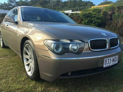 2003 BMW 745Li E66 Steptronic Beige 6 Speed Automatic Sedan Burleigh Waters Gold Coast South Preview