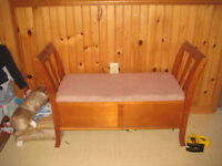 Bench with storage  FREE DELIEVERY