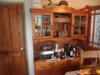 Pine dresser,