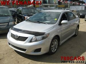 2009 Toyota Corolla SPORT - WE DO TRADES + WE FINANCE Edmonton Edmonton Area image 1