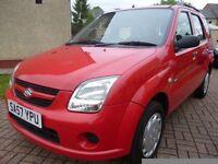 2007 57 Suzuki Ignis 1.3 GL 5dr hatchback Low Miles
