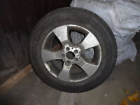 Four Pirelli Winter Tires for Mercedes Car (with rims)