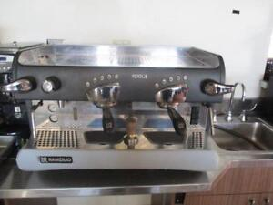 Rancilio 2 group espresso machine - refurbished