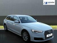 2015 Audi A6 AVANT TDI ULTRA SE Diesel white Semi Auto