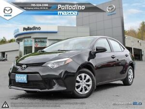 2015 Toyota Corolla GREAT CAR FOR TRAVELLING +MANUAL TRANSMISSIO