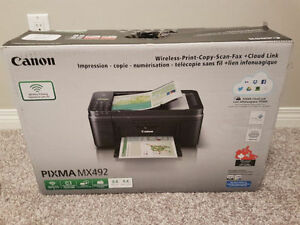 Canon pixma printer - used twice!