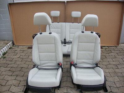 VW Golf 6 Cabrio Sitze Lederausstattung Ledersitze Beige 3 gebraucht kaufen  Bielefeld