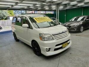2006 Toyota Noah AZR60G White Constant Variable Van Croydon Burwood Area Preview