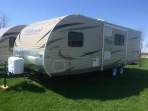 Brand New Shasta Oasis RS25-Special Ex Rental Unit