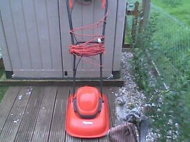 flymo electric hover mower great condition