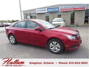 2014 Chevrolet Cruze 1LT, Bluetooth, Crusie Control, Low kms