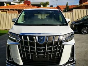 2019 Toyota Alphard SRC White Continuous Variable STN WGN Applecross Melville Area Preview
