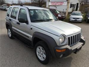 2004 Jeep Liberty Sport 4x4! BRAND NEW TIRES & BRAKES! A/C! London Ontario image 5