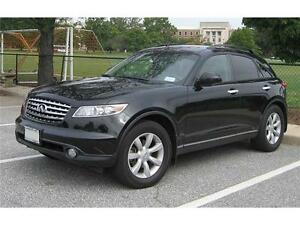 2005 INFINITI FX35**NAV** REAR ENTERTAINMENT** PRICED TO SELL