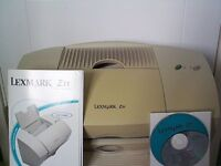Lexmark Z31 Printer complete with Set up CD & Manual