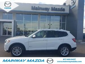 2011 BMW X3 xDrive35i LOCAL TRADE NO PST SAVE SAVE SAVE