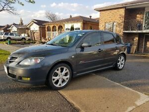 2007 Mazda Mazda3 Sport GT Hatchback Leather Heated Seats