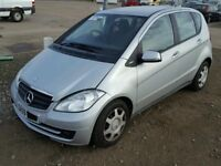 2009 MERCEDES BENZ A CLASS A160 CDI DIESEL CAT D Damaged Salvage £30 road tax
