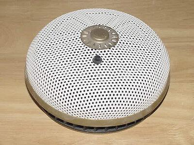 Vulcan Autosonic MK VI-B Battery Chirp Smoke Detector Alarm White Photoelectric