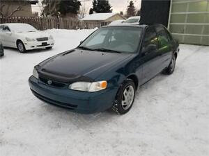 1999 Toyota Corolla Only 186170 km****Newer Tires***No Accidents