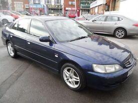 HONDA ACCORD 1.9 I-VTEC SPORT 4d 136 BHP (blue) 2003
