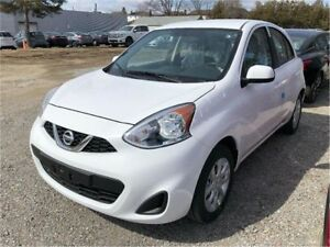 2018 Nissan Micra SV 225$ PER MONTH WINTER TIRES INCLUDED