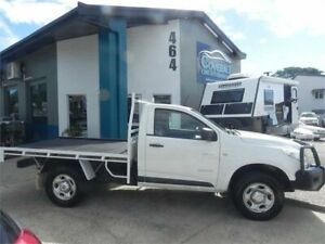 2012 Holden Colorado RG DX (4x2) White 5 Speed Manual Cab Chassis Earlville Cairns City Preview