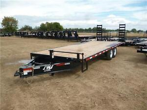 -*-*New 24ft Deck Over Flatdeck Trailer by SWS*-*- Tax In $