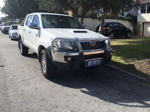 2012 Toyota Hilux 4x4 turbo diesel dual cab with SR5 upgrades Floreat Cambridge Area Preview