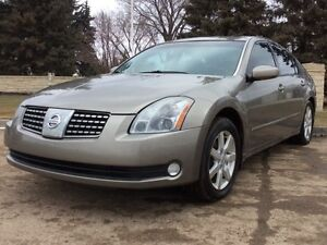 2004 Nissan Maxima, SL-Pkg, AUTO, LEATHER, ROOF, 165K, $6,500