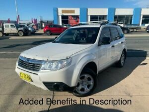 2010 Subaru Forester S3 MY10 XS AWD White 5 Speed Manual Wagon Fyshwick South Canberra Preview