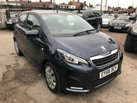 2016 Peugeot 108 1.0 AUTOMATIC, 5 DORR, 4 SEATER, CHEAPEST IN THE MARKET