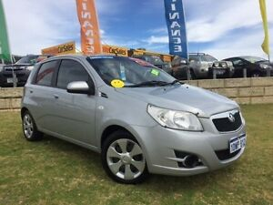 2009 Holden Barina TK MY10 Silver 5 Speed Manual Hatchback Wangara Wanneroo Area Preview