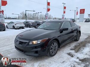 2012 Honda Accord Coupe EX-L Navi- Leather, Navigation, 2.4L VTE