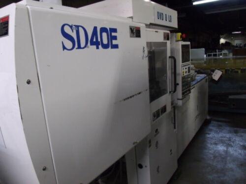 Sumitomo 40 Ton Injection Molding Machine Model SD40E For Parts