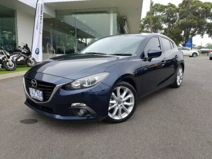 2014 Mazda 3 Blue Sports Automatic Hatchback Traralgon Latrobe Valley Preview