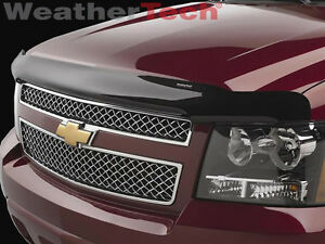 WeatherTech Stone & Bug Deflector Hood Shield for Avalanche / Suburban / Tahoe