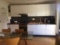 White gloss Kitchen including range of appliances for sale