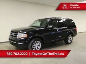 2017 Ford Expedition LIMITED; 8 PASSENGER, SUNROOF, NAV, 4X4, LE