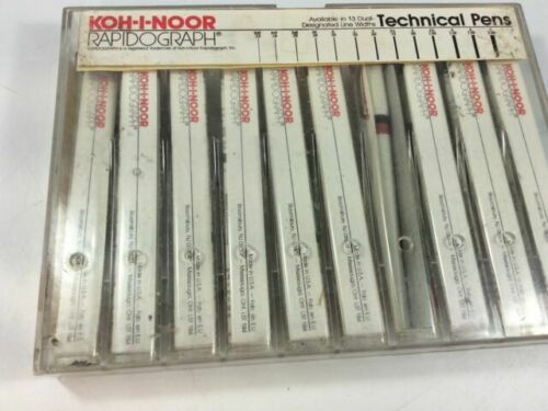 KOH-I-NOOR Rapidograph Technical Pens No. 3165 - Inks Sold Seperately