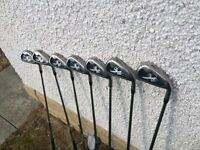 CALLAWAY X20 IRONS 4 - PW. PROJECT X SHAFTS. VERY GOOD CONDITION