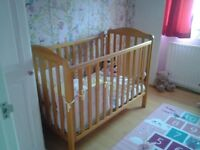 Mothercare Darlington cot .
