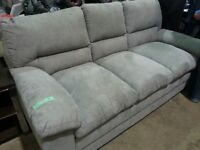New Stylish 7ftx3 ftGrey Fabric Sofa!Save!Last one!Today special