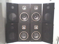 4 Sony Stereo Speakers + Buy one Set and get another Set FREE - Heathrow