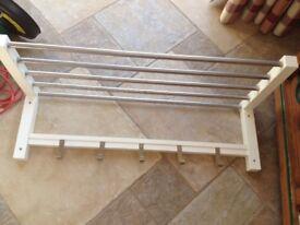 Ikea Coat Rail White